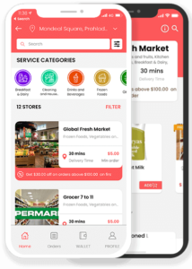 grocery delivery clone