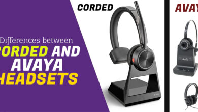 Photo of Differences Between Corded and Avaya Headsets