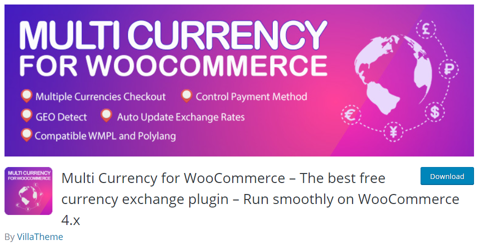WooCommerce Multi-Currency