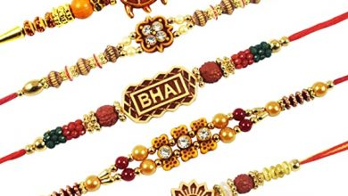 Photo of Send Traditional Rakhi Threads Crafted with Rich Indian Art