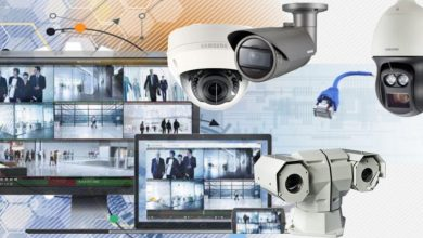 Photo of CCTV Camera and Some Parts Of It