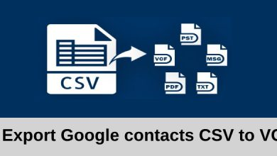 Photo of How to Export Google Contacts CSV to VCF File ?