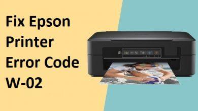 Photo of How To Fix Epson Printer Error Code W-02