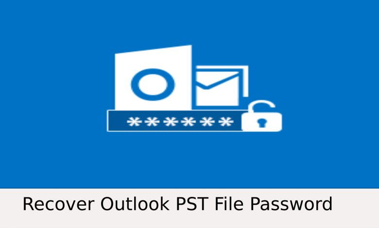 remove the password from the Outlook PST file