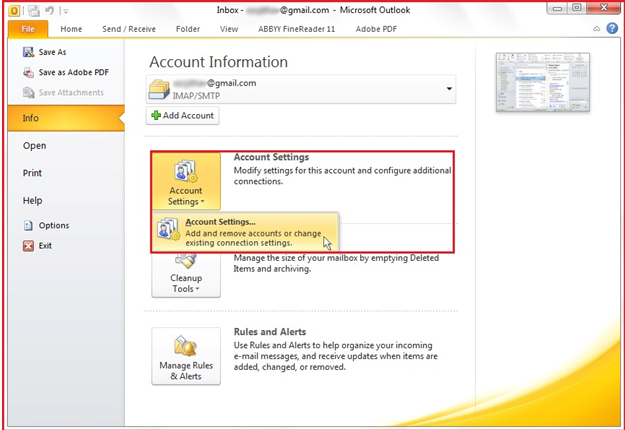 Outlook PST File Password Remover