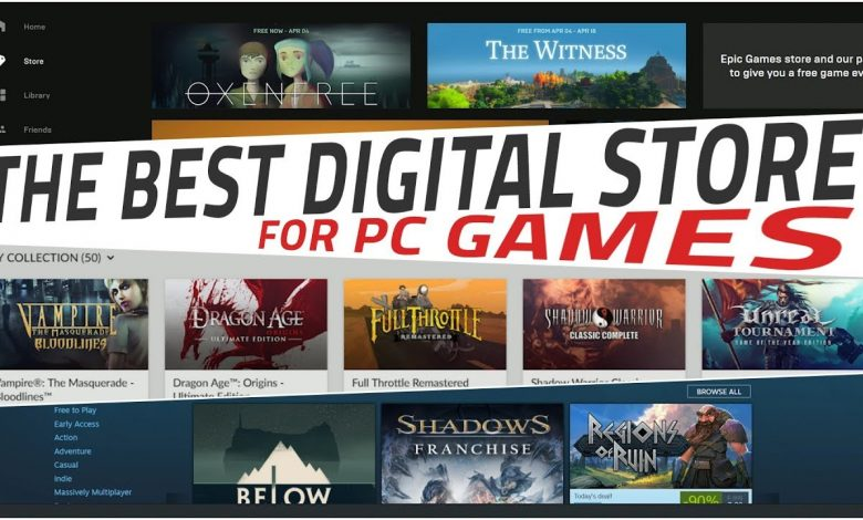 online gaming stores