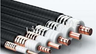 Photo of Quality inspection of coaxial cable